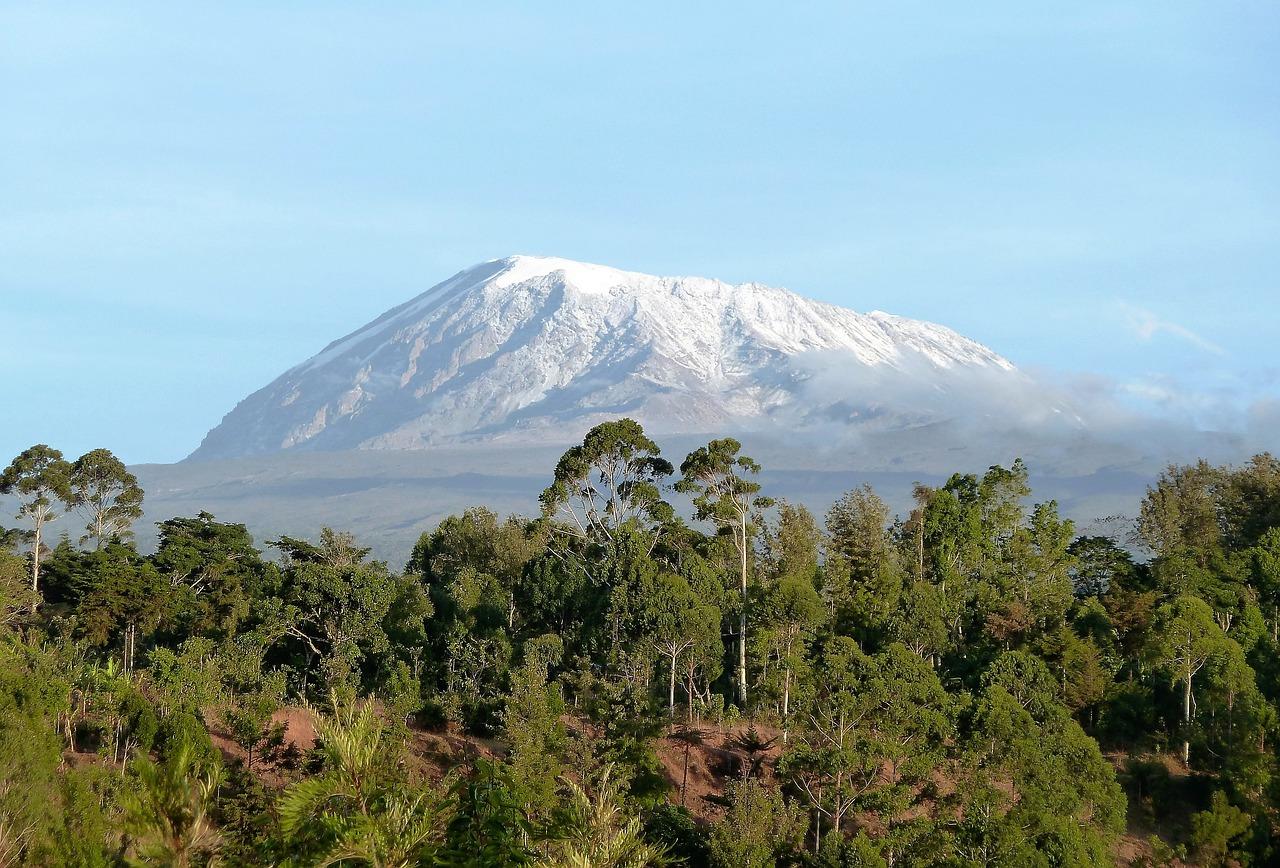 Kilimanjaro mountain shira route